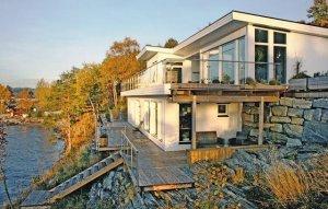 Ferienhaus in Eidsvåg am Eresfjord