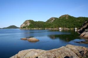 Der Spindsfjord in Süd-Norwegen