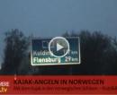 Kajak-Angeln in Norwegen