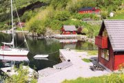 Ferienhaus in Hyllestad am Lifjord / Sognefjord
