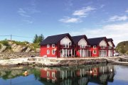 Ferienhaus in Øygarden auf der Insel Heggøy