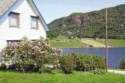 Ferienhaus in Sørbøvåg am Skifjord