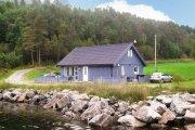 Ferienhaus in Torjulvågen am Halsafjord